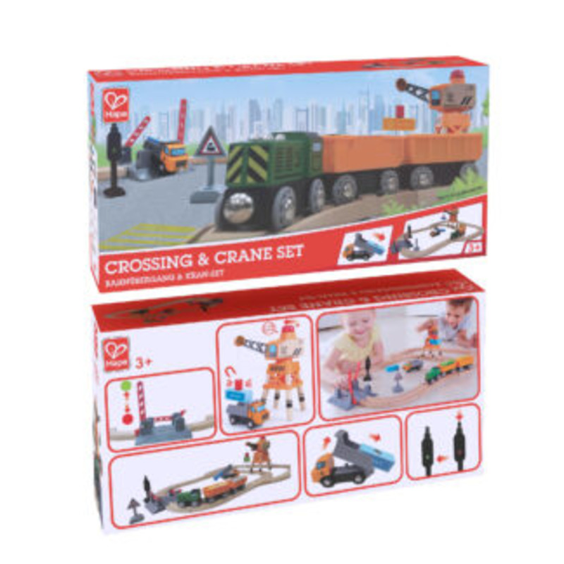 Crossing And Crane Set by Hape