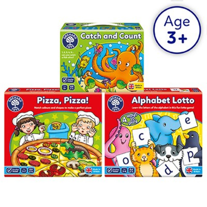 Preschool Learning Games by Orchard Toys