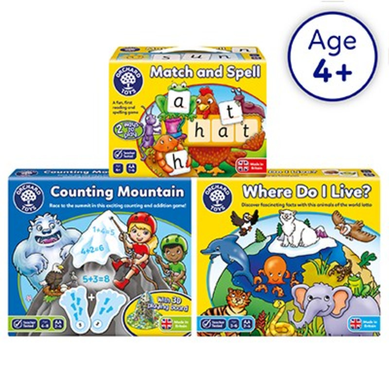 Key Stage 1 Learning Games by Orchard Toys