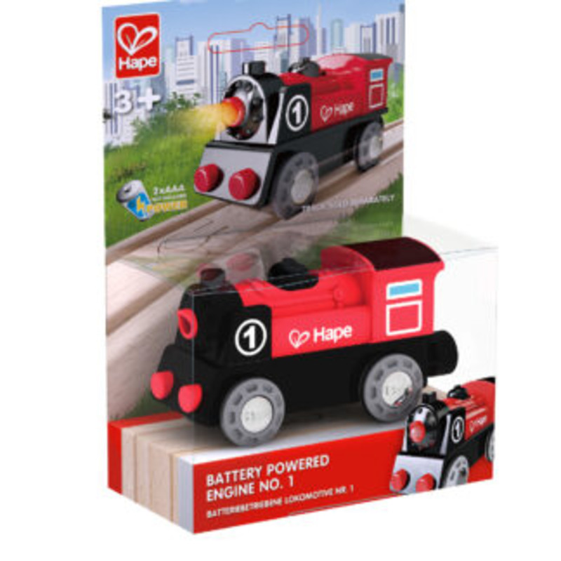 Battery Powered Engine no. 1 by Hape