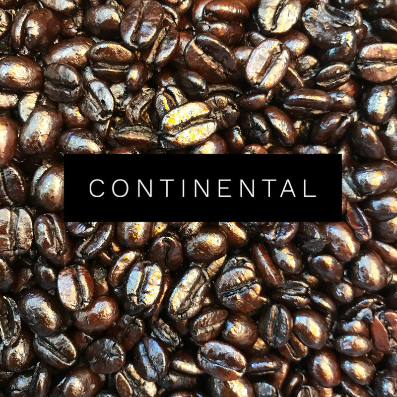 4 x 250g Continental Roast Coffees