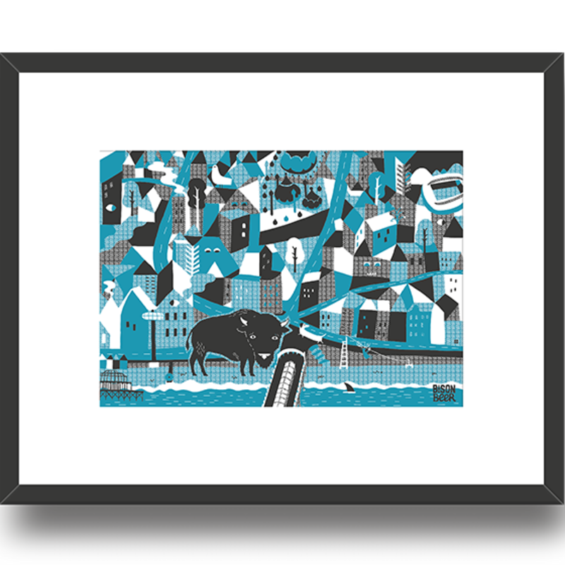 See Side Screen Print  - Limited Edition