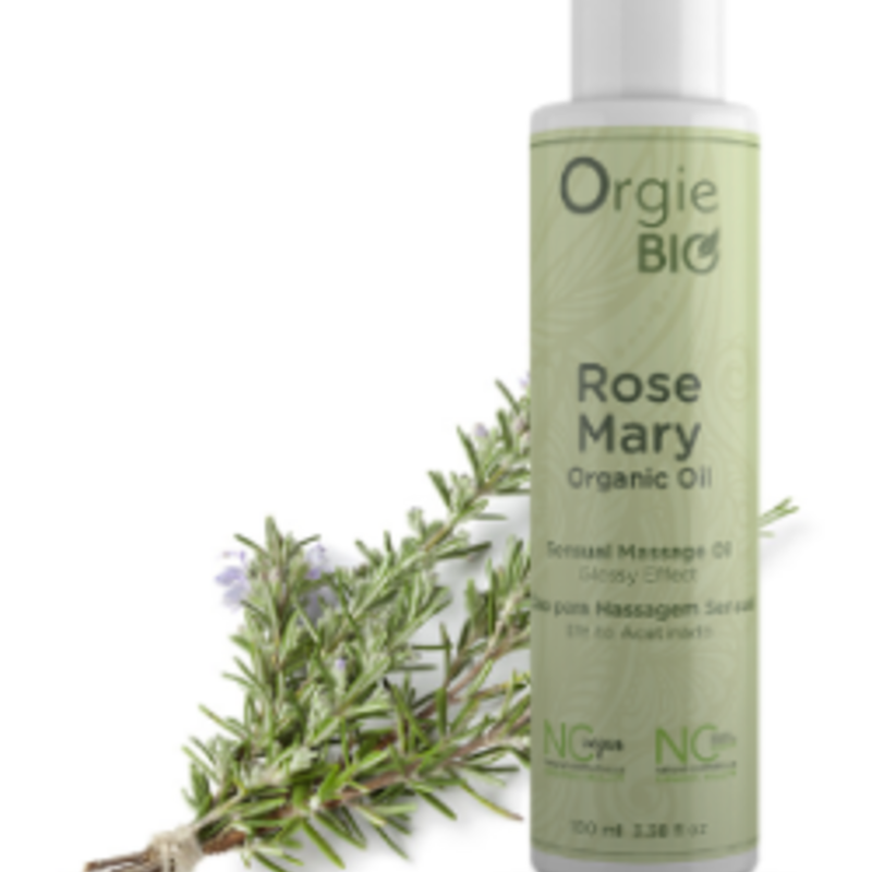 Orgie Organic Massage Oil Rose Mary