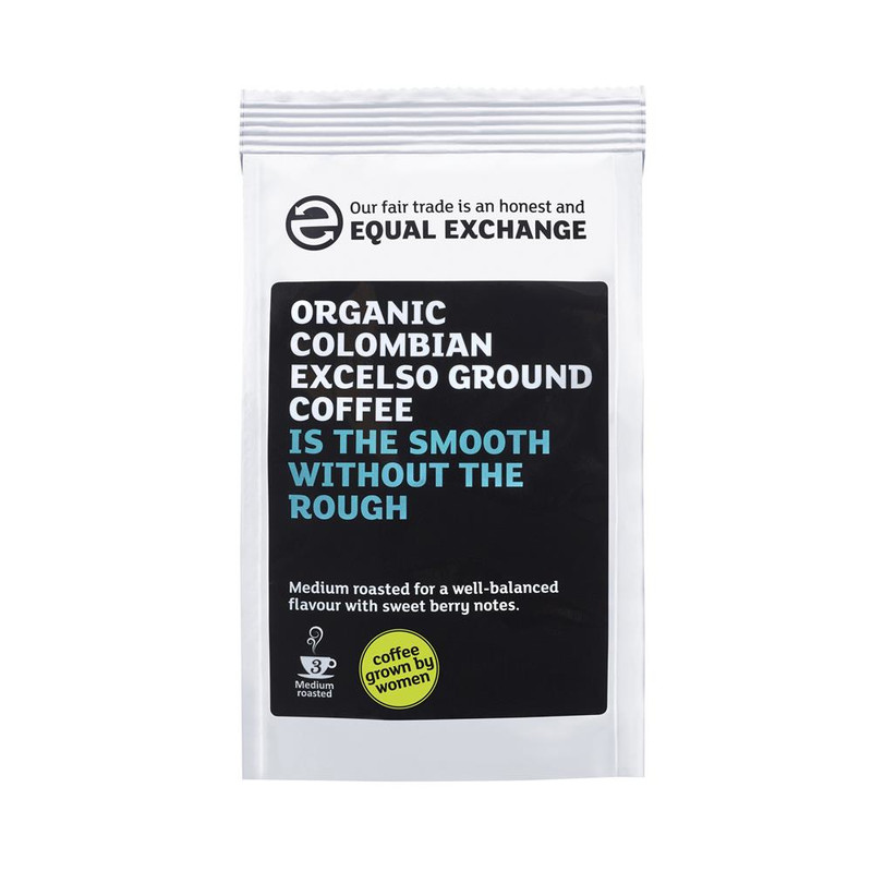 Equal Exchange Organic Colombian Excelso Ground Coffee