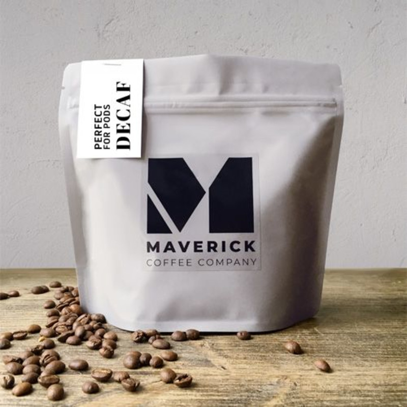MAVERICK COFFEE: PERFECT FOR PODS DECAF