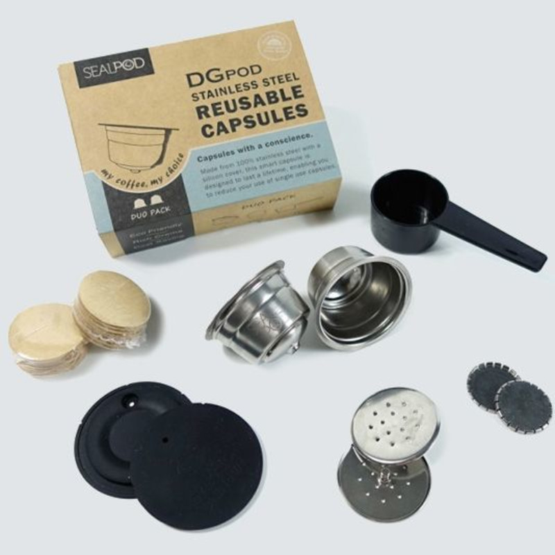 SEALPOD DOLCE GUSTO® REUSABLE COFFEE PODS (2 PACK)