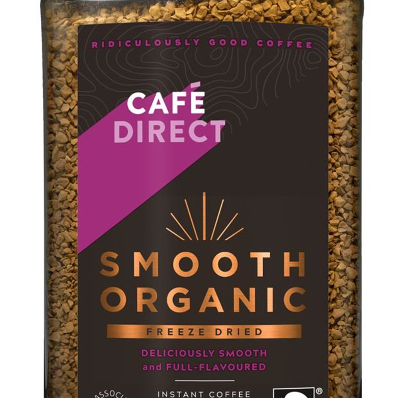 Cafedirect Smooth Organic Instant Coffee