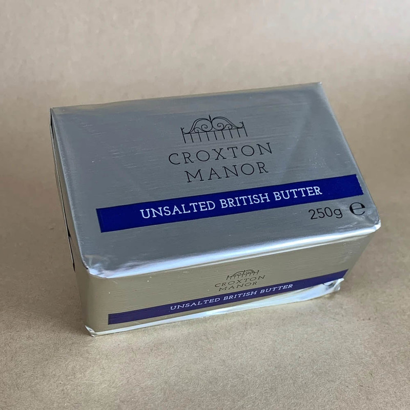 Unsalted British Butter