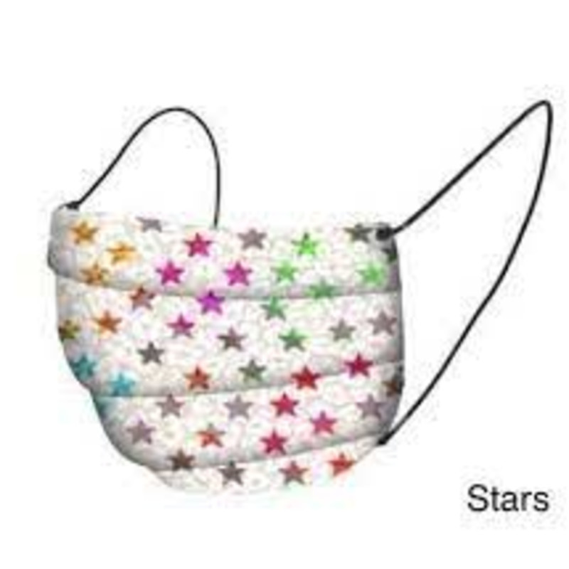 Stars Ombre Face Mask