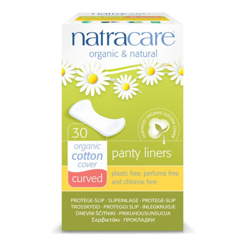 Natracare Curved Panty Shields