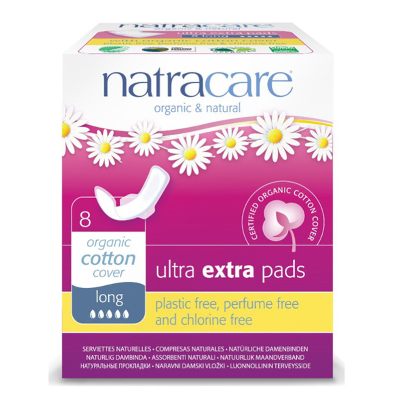 Natracare Ultra Extra Pads - Long