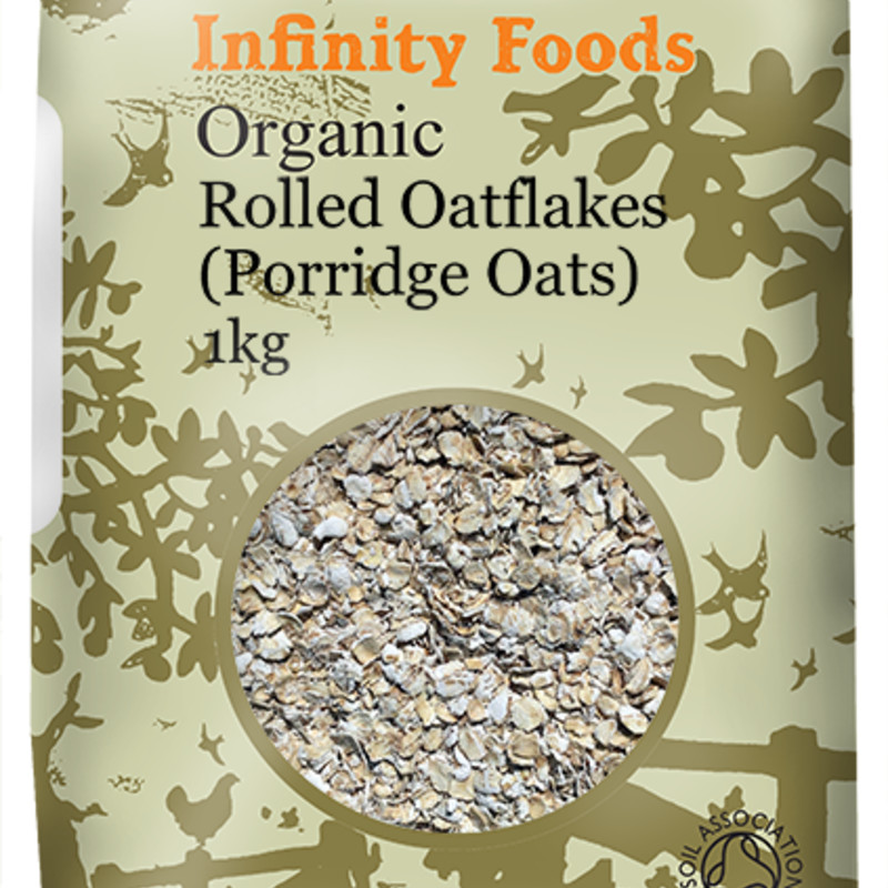 Infinity Organic Rolled Oats