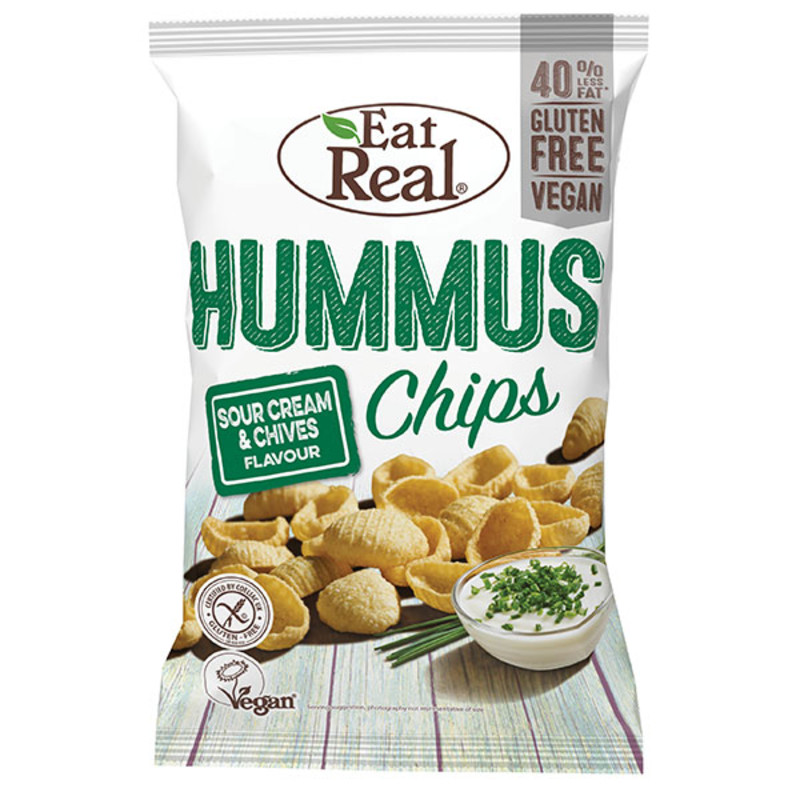 Eat Real Hummus Chips - Sour Cream & Chive