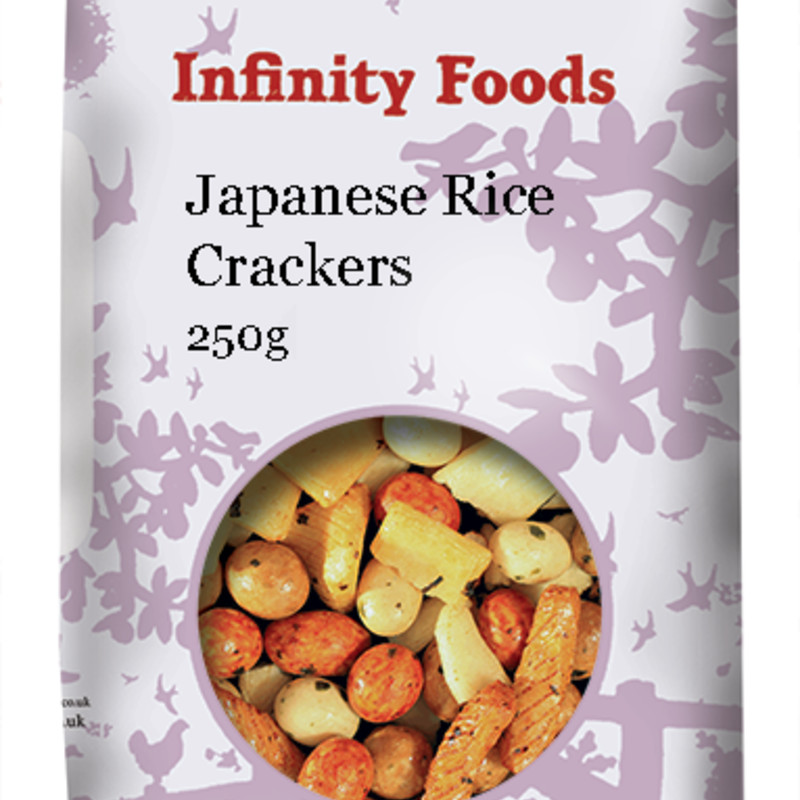 Infinity Japanese Rice Crackers 250g