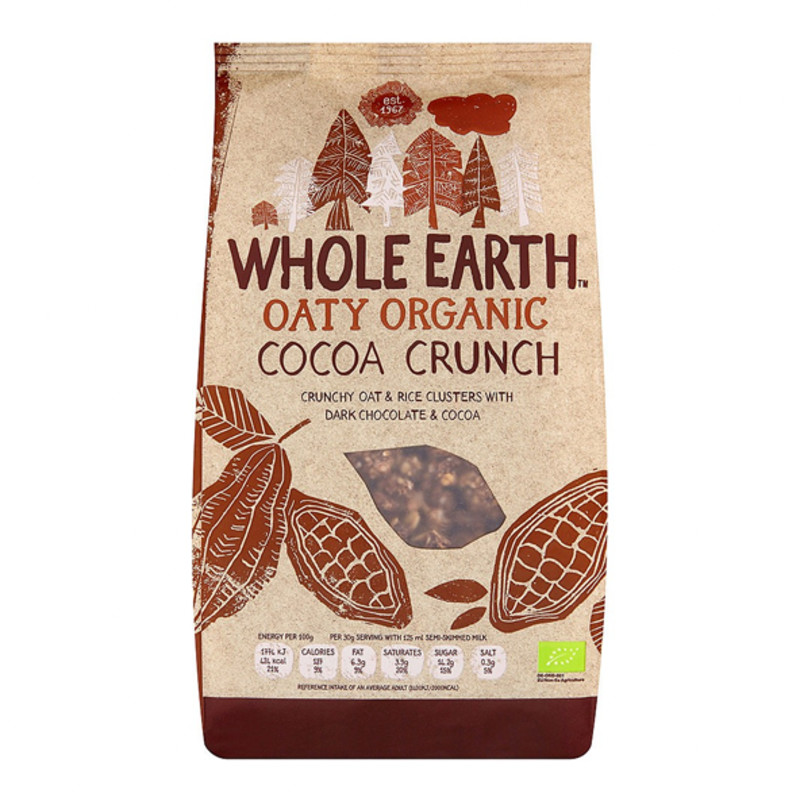 Whole Earth Organic Cocoa Crunch Cereal 375g