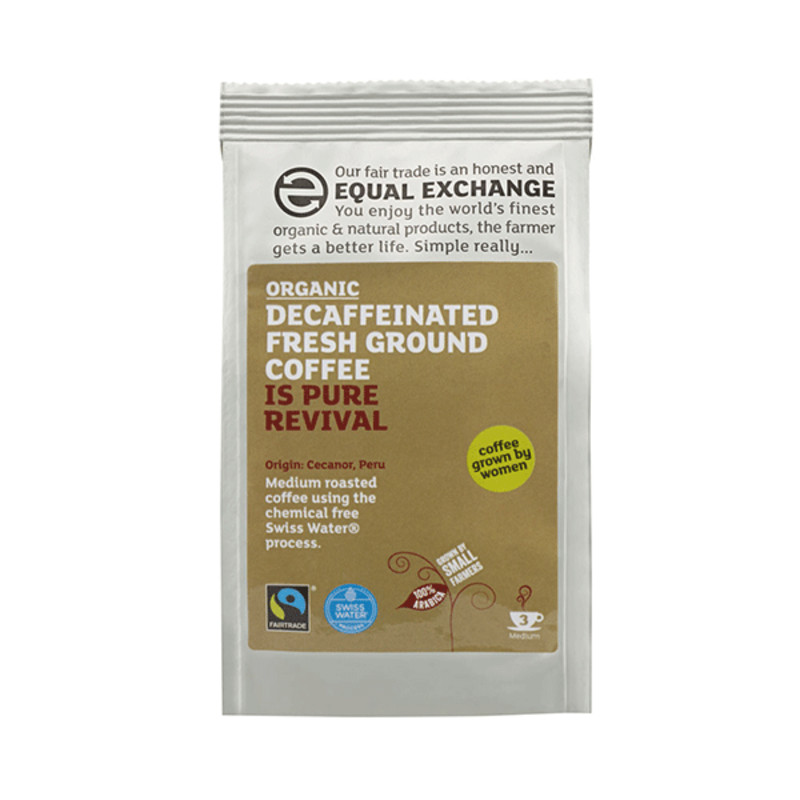 Equal Exchange Organic Coffee - Decaffinated