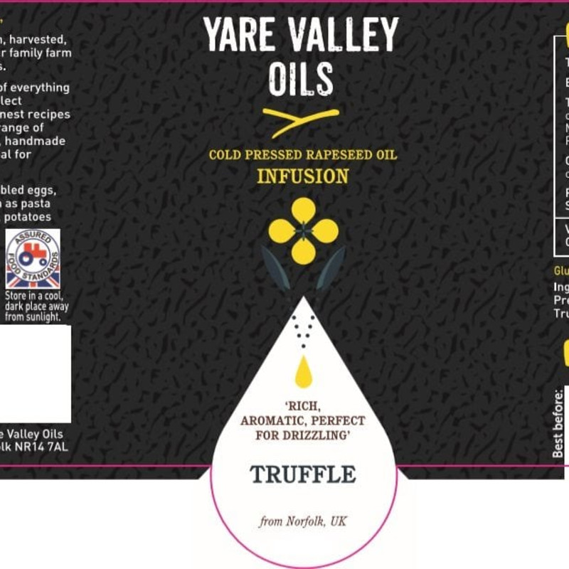 Yare Valley Oils Infusion Black Truffle