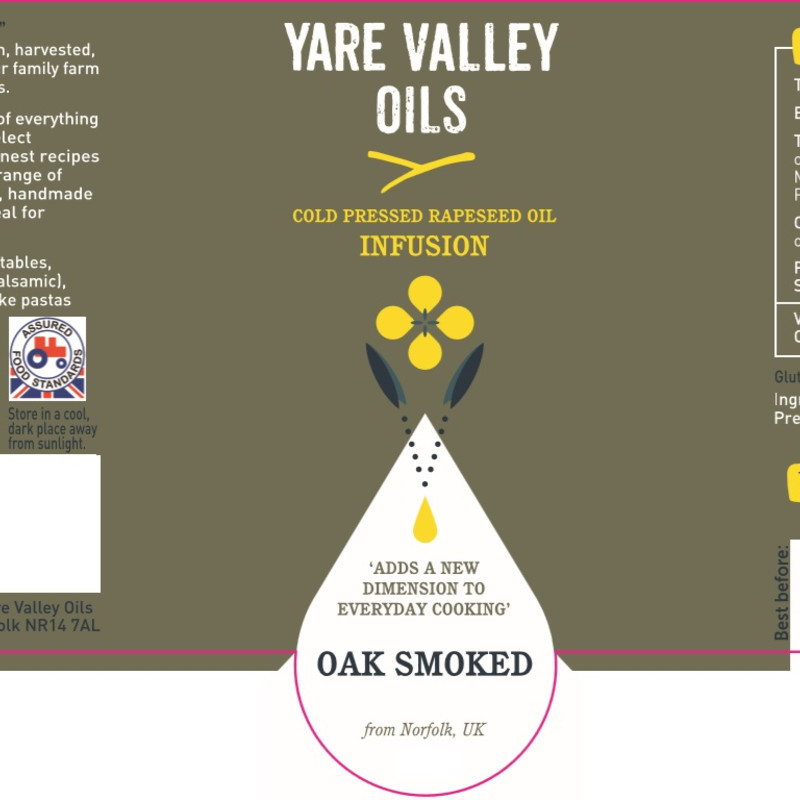 Yare Valley Oils Infusion Oak Smoked
