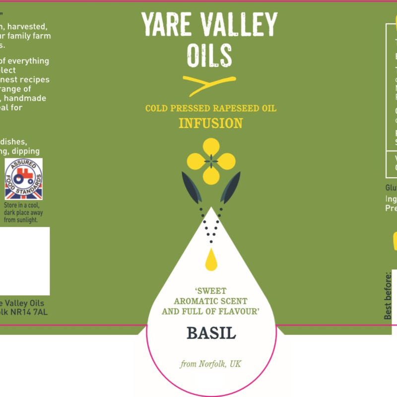Yare Valley Oils Infusion Basil