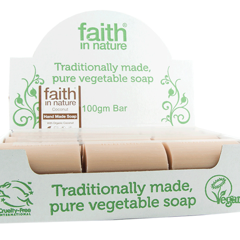 Faith in Nature Hand Made Soap - Coconut