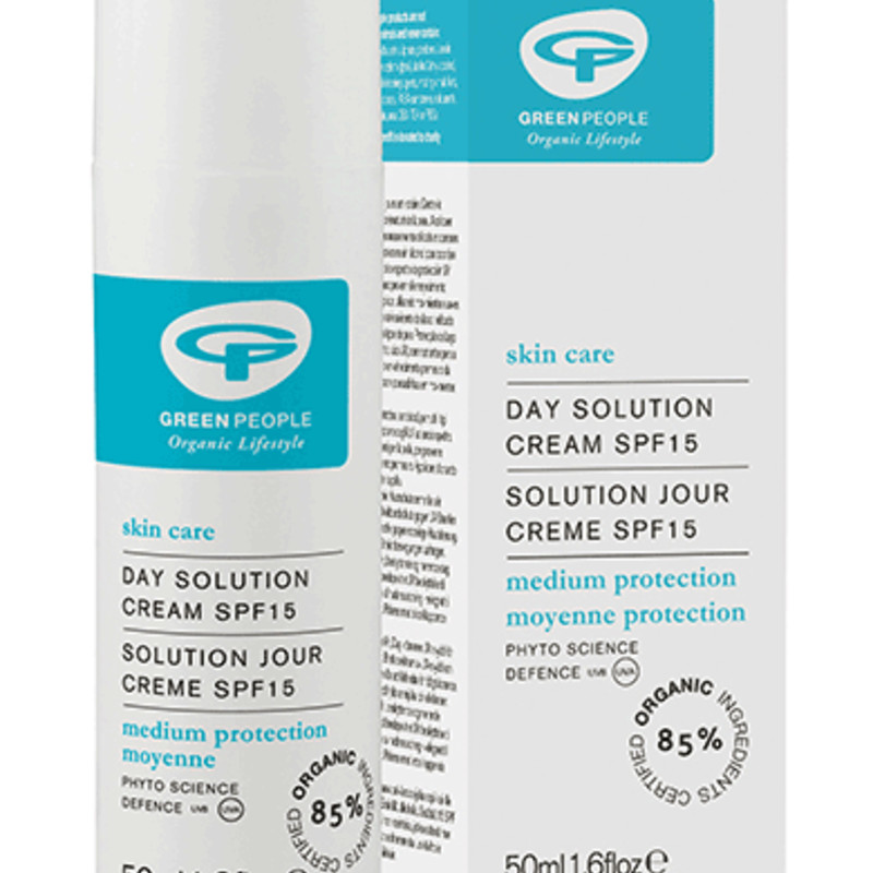 Green People Day Solution Cream - SPF 15