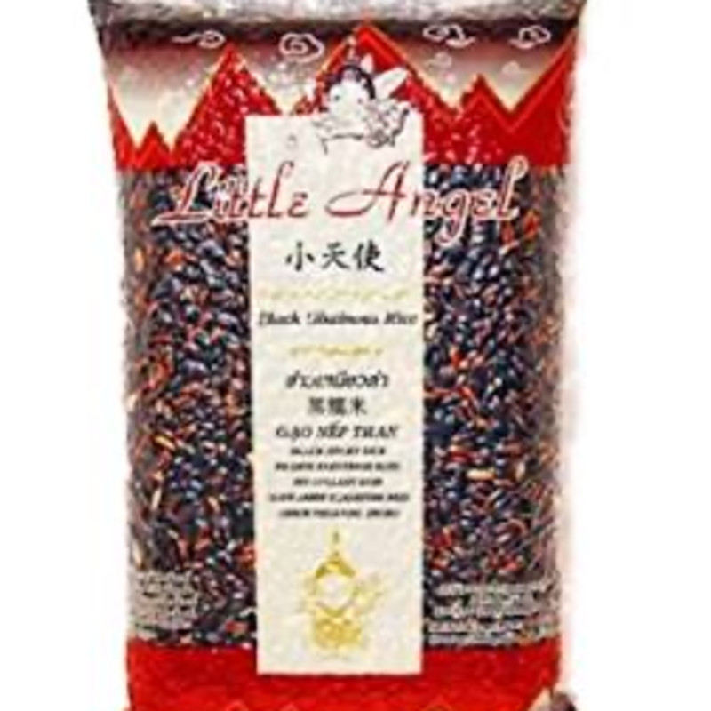 Little Angel Thai Black Glutinous Rice 1Kg